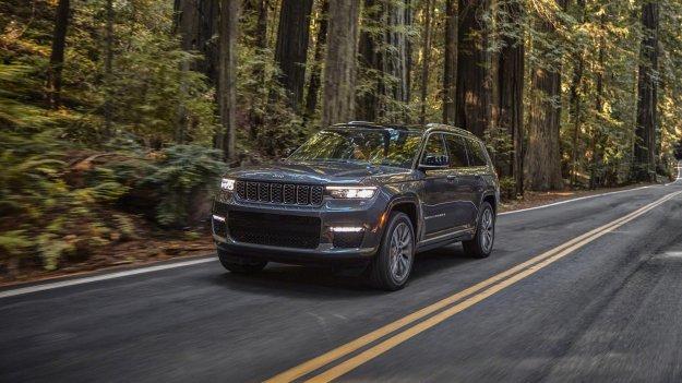 Spoznajte novega Jeep Grand Cherokee L
