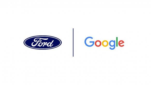 Ford in Google z roko v roki