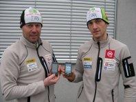 Slovenski biatlonci z Galaxyjem 551