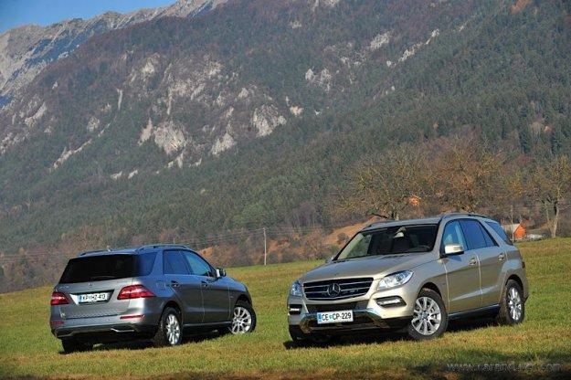 Nova Mercedes Benz B in Mercedes Benz M