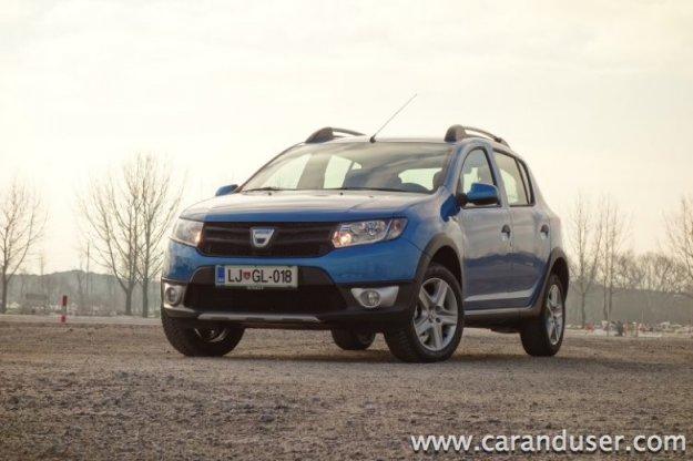 Nova Dacia Sandero in Sandero Stepway