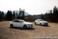 Mercedes GLA in Mercedes C