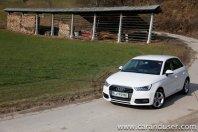 Audi A1 in A1 Sportback (2015)