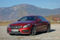 Mercedes-benz C coupe 2015